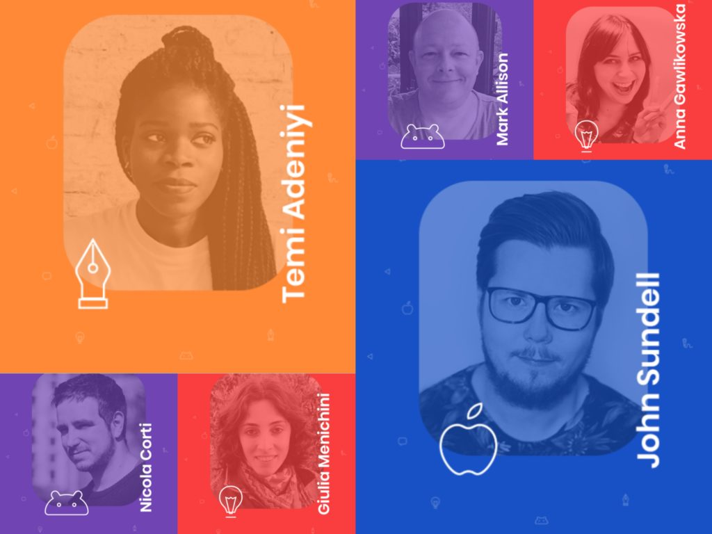 Mobiconf speakers 2018